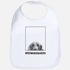 Weimaraner In A Box! Bib