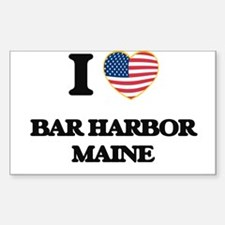 I love Bar Harbor Maine Decal