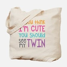 Cute Twin Tote Bag