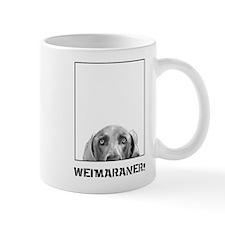 Weimaraner In A Box! Mug