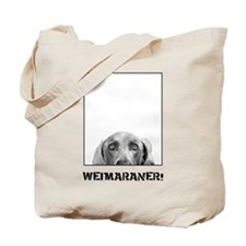 Weimaraner In A Box! Tote Bag