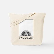 Weimaraner In A Box! Tote Bag