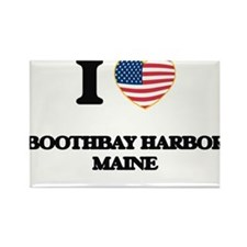 I love Boothbay Harbor Maine Magnets