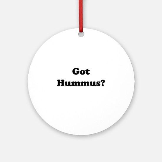 Got Hummus Ornament (Round)
