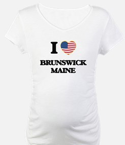 I love Brunswick Maine Shirt