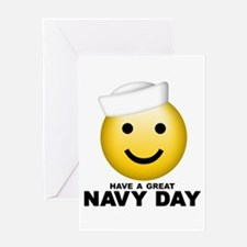 Have a Great Navy Day Greeting Card