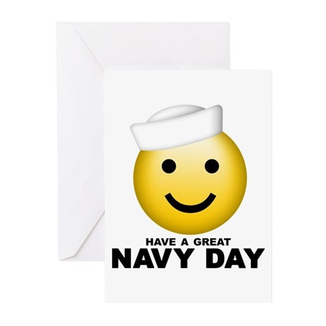 Have a Great Navy Day Greeting Cards (Pk of 10)