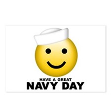 Have a Great Navy Day Postcards (Package of 8)