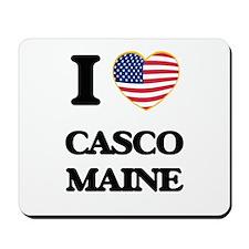 I love Casco Maine Mousepad