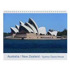 Australia New Zealand Wall Calendar