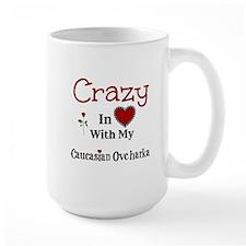 Caucasian Ovcharka Mugs