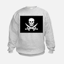 Skull and Swords Jolly Roger Sweatshirt