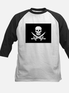 Skull and Swords Jolly Roger Baseball Jersey