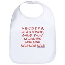 red alphabet weepublican Bib