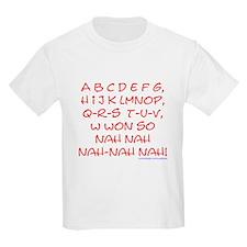 red alphabet weepublican Kids T-Shirt