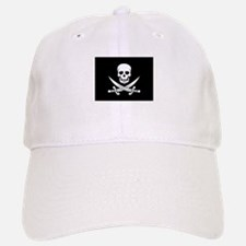 Skull and Swords Jolly Roger Baseball Baseball Cap