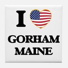 I love Gorham Maine Tile Coaster