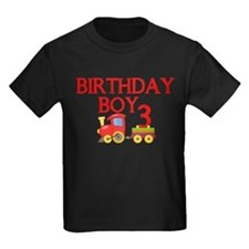 Boys 3rd Birthday T-Shirt