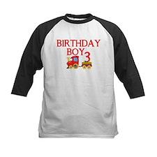 Boys 3rd Birthday Baseball Jersey