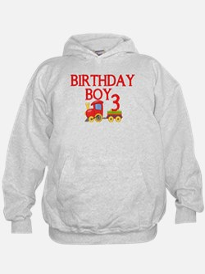 Boys 3rd Birthday Hoodie