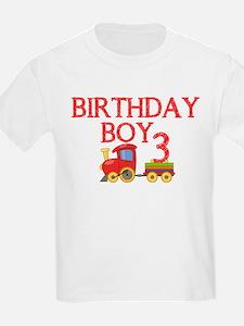 Boys 3rd Birthday T-Shirt