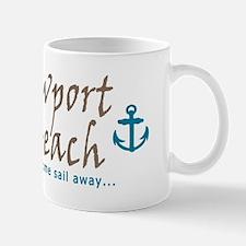 Newport Beach Sailing Mug