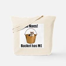 Bucket has lolcat Tote Bag