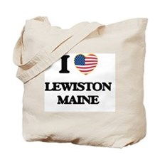 I love Lewiston Maine Tote Bag