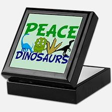 Dinosaur Love Keepsake Box