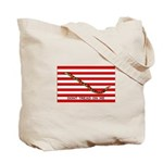 Gadsden/Navy Jack Two-Flag Tote Bag