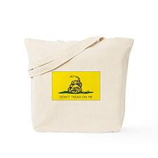 Gadsden/Navy Jack Two-Flag Tote Bag