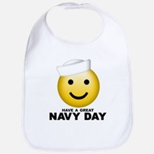 Have a Great Navy Day Bib