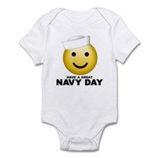 Have a Great Navy Day Infant Bodysuit