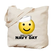 Have a Great Navy Day Tote Bag