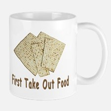 First Take Out Food Passover Mug