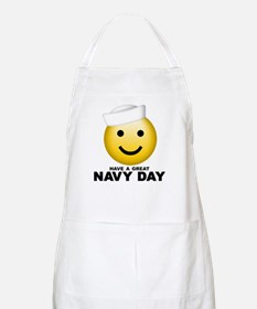Have a Great Navy Day BBQ Apron