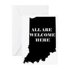 Indiana Welcome Greeting Card