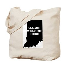 Indiana Welcome Tote Bag