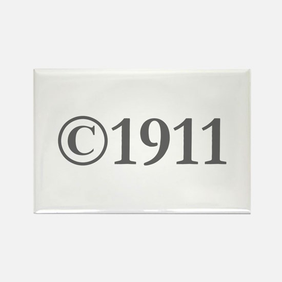 Copyright 1911-Gar gray Magnets