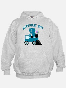 3rd Birthday Boy Hoodie
