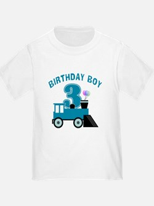 3rd Birthday Boy T-Shirt