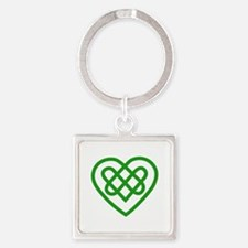Single Heart Keychains