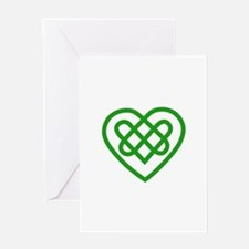 Single Heart Greeting Cards