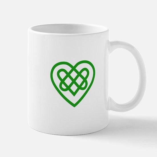 Single Heart Mugs
