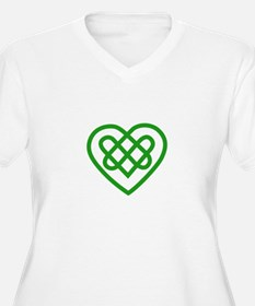 Single Heart Plus Size T-Shirt