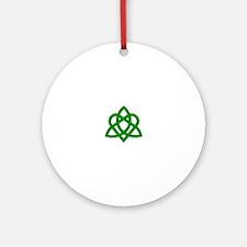 Trinity Knot Ornament (Round)