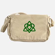 Trinity Knot Messenger Bag