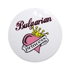 Bulgarian Princess Ornament (Round)