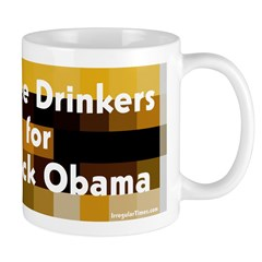 Coffee Drinkers for Barack Obama Coffee Mug