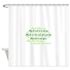 Irish Blessing Shower Curtain